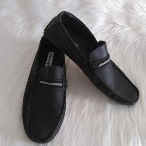 Steve Madden Men's  Black Loafers 11